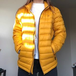Tommy Hilfiger Yellow Puffer Jacket